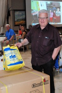 Pastor J.R. Damiani wins the Grand Prize Drawing